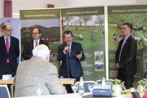 20.03.2017 Frühlingsfest Tagestreff mit Minister Schimdt